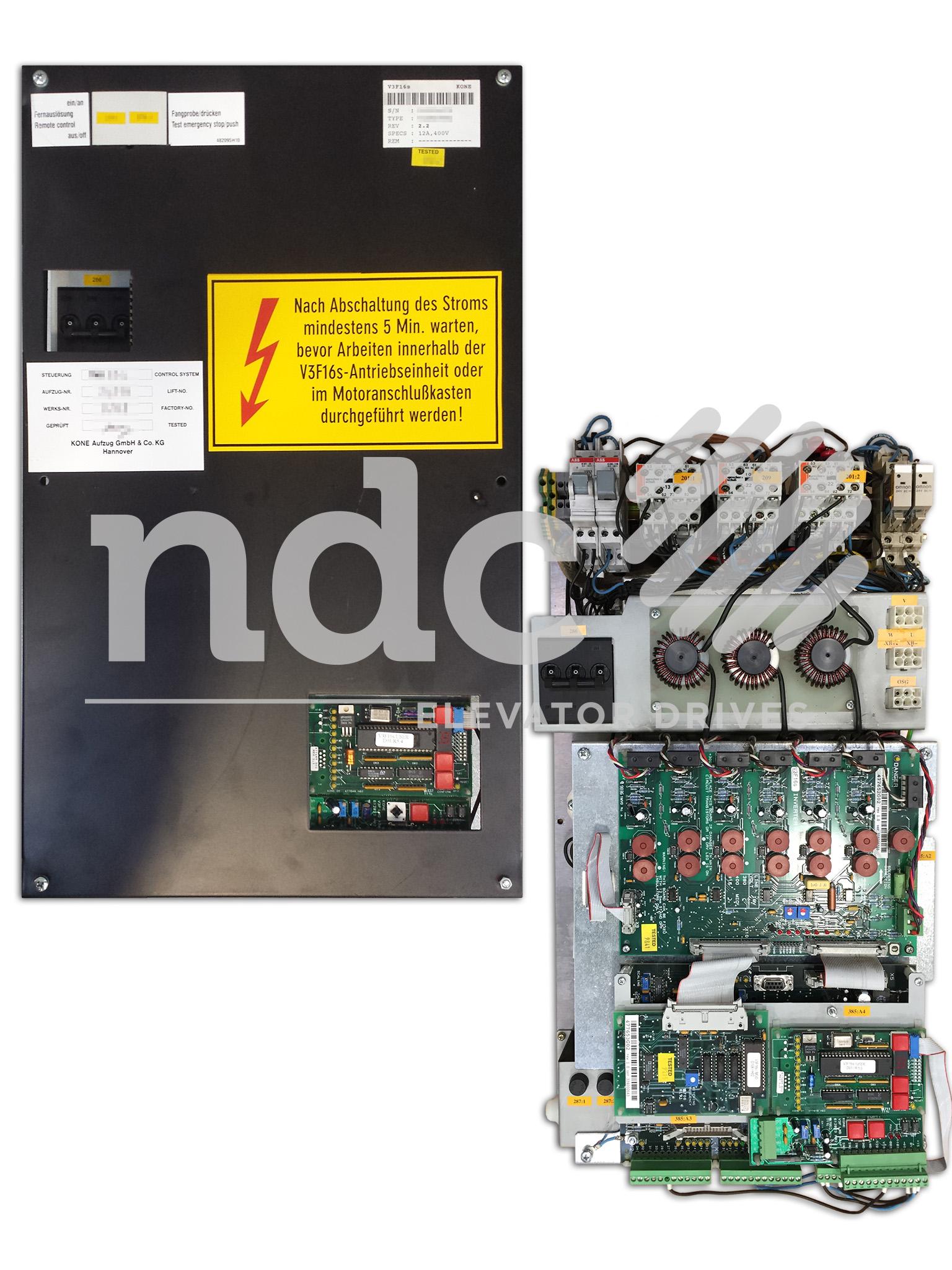 Kone V3F16 S | NDC Elevator Drives