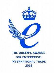 Queen's Award for Enterprise International Trade 2016 Emblem low res